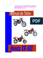 Honda Xr 400 Manual de Taller