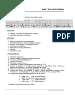 Protocolo Electrocardiograma