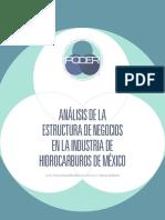 PODER Análisis de La Estructura de Negocios en La Industria de Hidrocarburos de Mexico Junio 2015