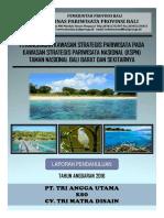 Laporan Pendahuluan Perencanaan dan Perancangan KSPN Taman Nasional Bali Barat dan Sekitarnya