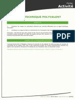 [CDG72] Agent Technique Polyvalent
