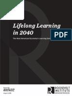 Lifelong Learning in 2040