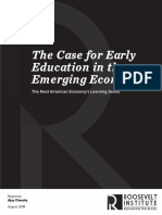 The Case for Early Education in the Emerging Economy