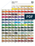 Vallejo Model Color Chart