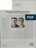 Enterprise VolP Security Suite
