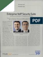 Enterprise VolP Security Suite