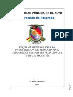 Esquema General de Monografias Tesinas y Tesis 2016-01-3