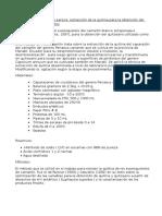 Técnicas y Metodologías Para La Extracción de La Quitina Para La Obtención Del Quitosano en Los Alimentos