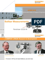 QC20 Ballbar Presentation -IMTMA