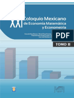 XXI Coloquio Mexicano de Economía Matemática y Econometría