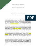 Cesión de Derechos Hereditarios Guillermina Reveco