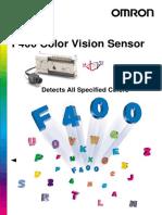 F400 Color Vision Sensor Q116-E1-1A