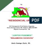 51239163 Reglamentos y Estatutos Junta de Vecinos Residencial Urena Version de Bolsillo2