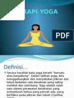 Terapi Yoga