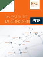 Das System Der RAL Gütesicherung