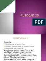 Autocad 2D & 3D
