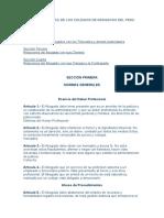 Codigo de Ética de los Colegios de Abogados del Perú.doc
