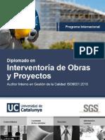 p.i. Diplomado Interventoria de Obras y Proyectos