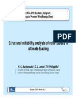 Structural Reliability Analysis of Rotor Blades in Ultimate Loading