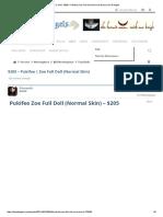 For Sale - $205 – Pukifee _ Zoe Full Doll (Normal Skin) _ Den of Angels