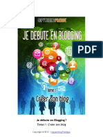 Collectif-Je Débute en Blogging - Tome 1-Copywriting Pratique (2012)