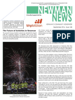 Newman News September 2016 Edition