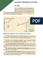 Método de Resolución de Sistemas de Vectores