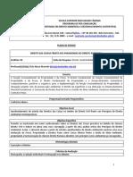 Pl Direito Das Coisas Frente Aos Paradigmas Do Direito Ambiental