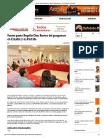 29-08-16 Forma parte Rogelio Díaz Brown del programa_ en Claudia y su Partido_
