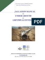 Install Under Ground