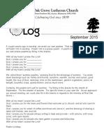 Log September 2016