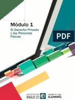 DERECHO PRIVADO I - Lectura 1 - Siglo 21 - Ues21