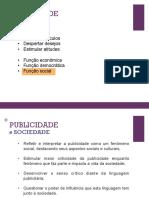 Publicidade e Sociedade