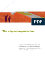 The Aligned Organization