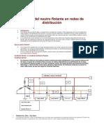 Impacto Del Neutro Flotante en Redes de Distribución