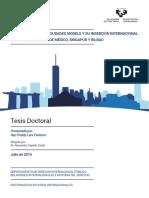 Tesis Doctoral La Construcción de Ciudades Modelos