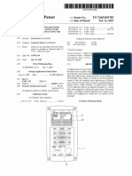 U.S. Patent 7,663,043, Entitled -Display Device for Guitar Tuners-2010
