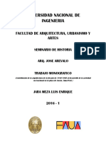 Contribucion de La Arquitectura de La Decada de 1940-1960 Al Desarrollo de La Actividad Recreacional en La Playa de Ancon