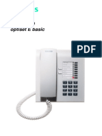 Siemens Hicom 150 Optiset e Basic Phone Guide