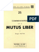 Serge Hutin Mutus_Liber
