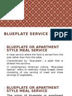 Blueplate Service