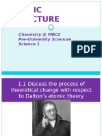 1. Atomic Structure