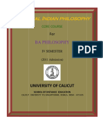 Ba Philosophy Classical Indian Philosophy