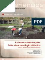 La Historia de Los Pies. Experiencias Educativas en Arqueología