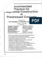 JL-75-March-April Recommended Practice for Segmental Construction in Prestressed Concrete