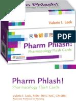 DAVIS-pharmacology Flash Cards