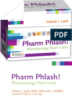 DAVIS-pharmacology Flash Cards