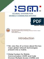 GSM Presentation-Asim Ihsan