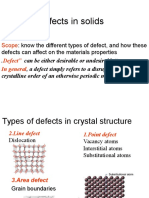 Defect Solid