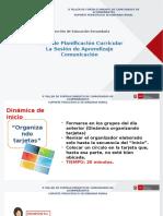 Sesión de Aprendizaje Comunicacion SER+ (03.08.16) Bloque Mañana